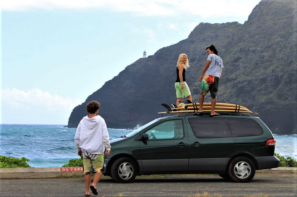 Makapuu Beach Parking Lot
