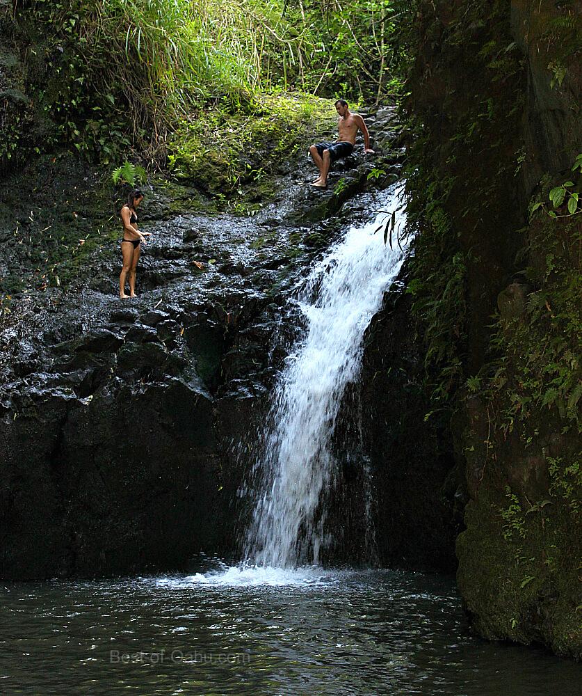 Maunawili Falls Area