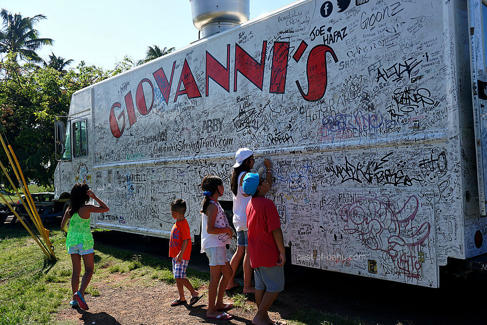 Oahu Shrimp Trucks