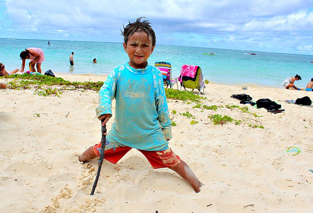 Oahu Beaches For Kids