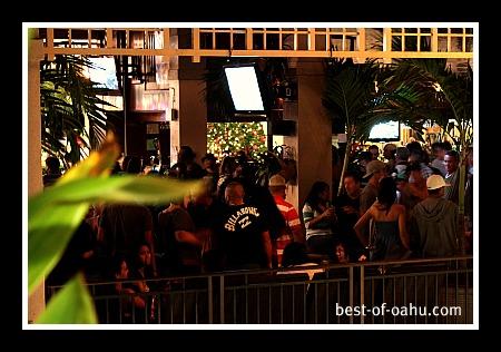 Oahu Nightlife at the Mai Tai Bar