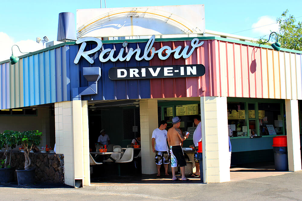 Rainbow Drive In Best Plate Lunch