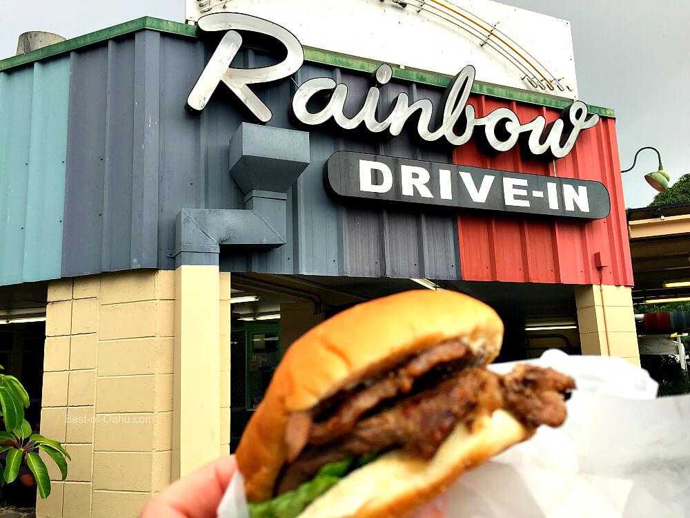 Rainbow Drive In Teri Beef Sandwich