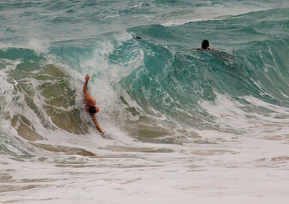 Sandy Beach Shore Break