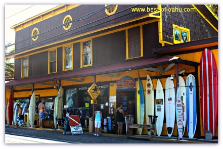 Sea-n-Surf Shop, North Shore