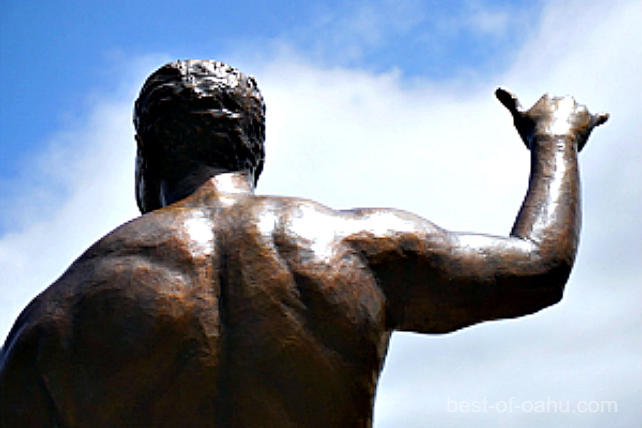 Polynesian Cultural Center Statue