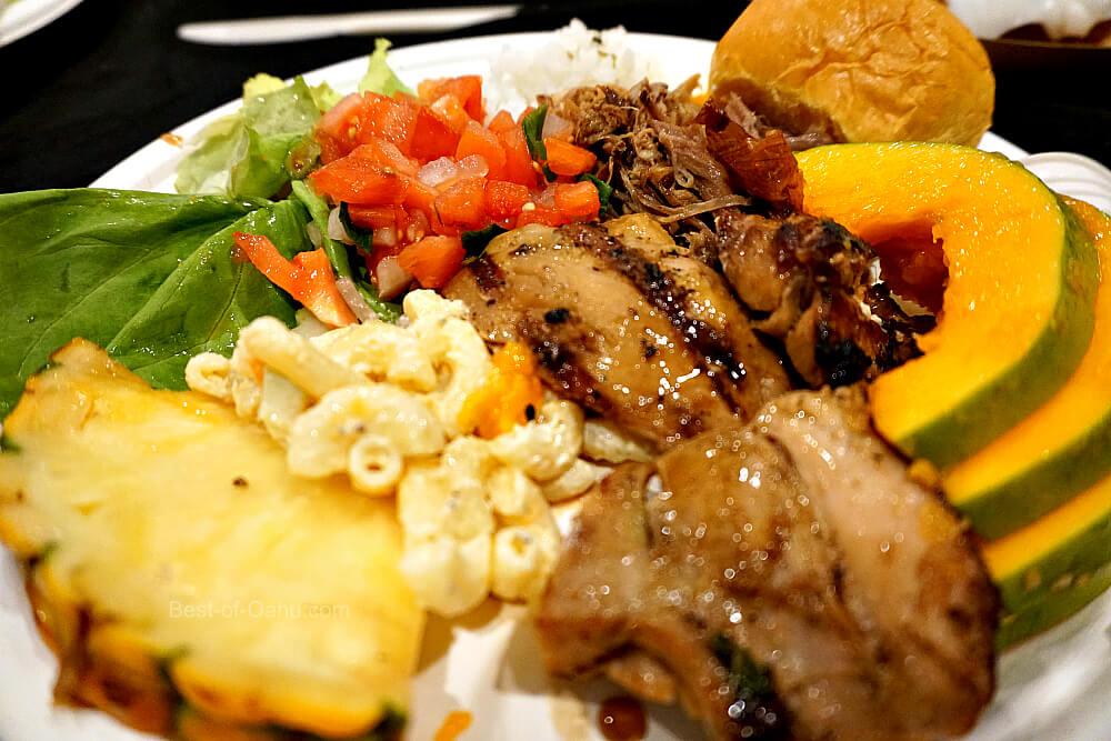 Toa Luau Hawaiian Food