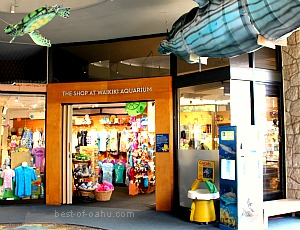 Waikiki Aquarium Gift Shop