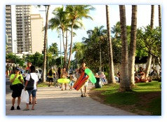 Waikiki Walking Path