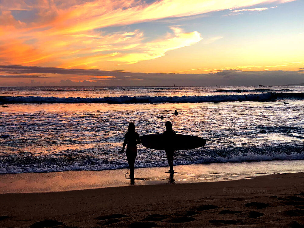 Sunset Beyond The Horizon Surf Tank Shirt