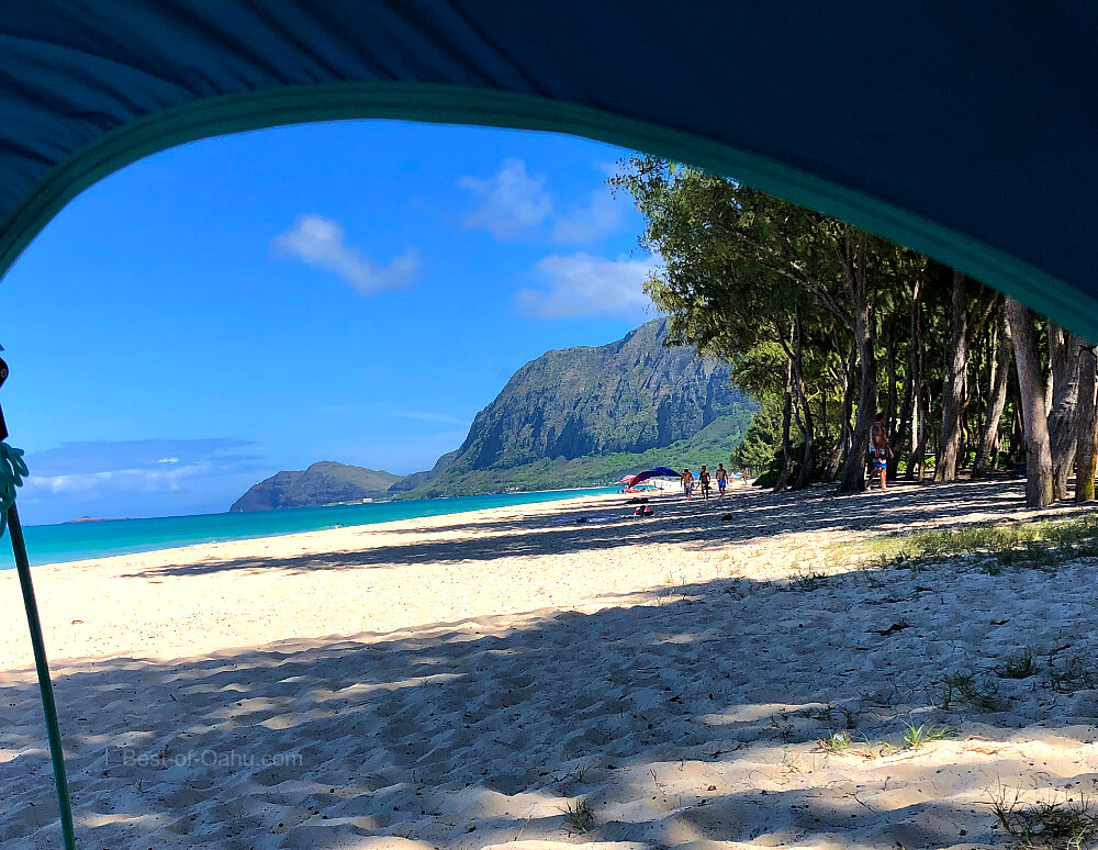 Waimanalo Bay Camping