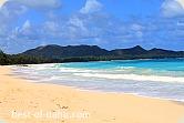 Waimanalo Bay Oahu Hawaii;