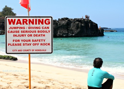 Waimea Bay Warning