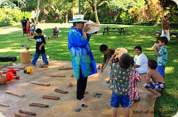 Waimea Falls Park Activity