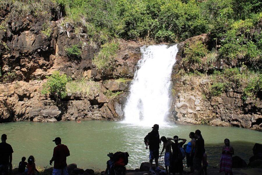 Waimea Falls Park Waterfall