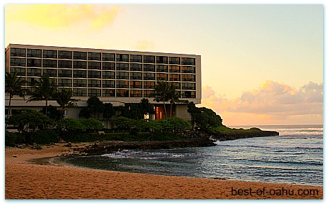 Turtle Bay Resort Sunset