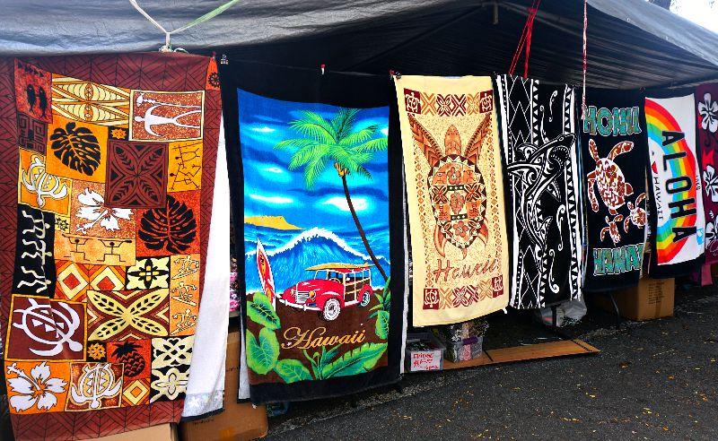 Aloha Stadium Swap Meet Beach Towels