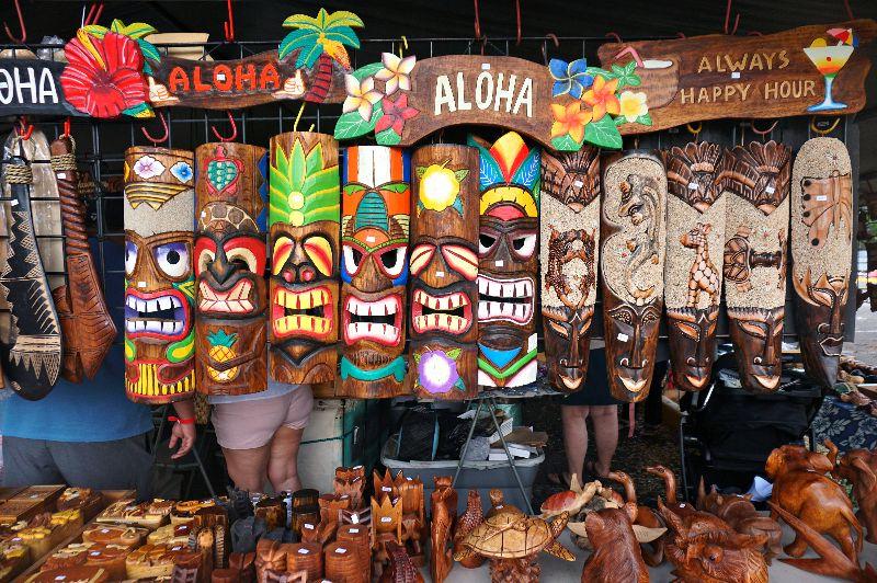Aloha Swap Meet Tiki Masks