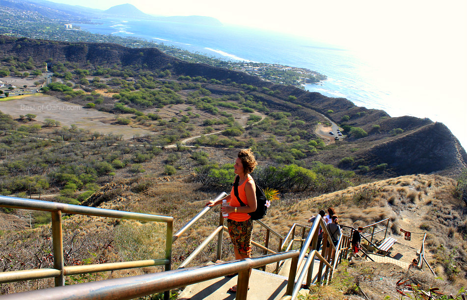 Diamond Head Hike Lookout