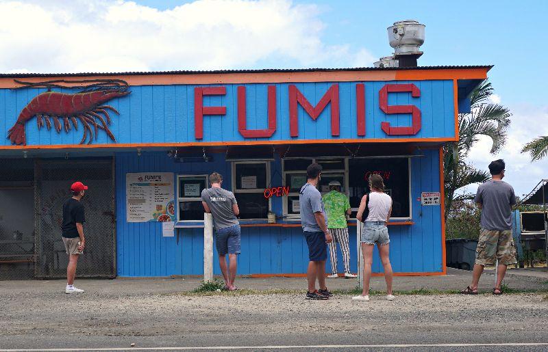 Kahuku Shrimp Trucks