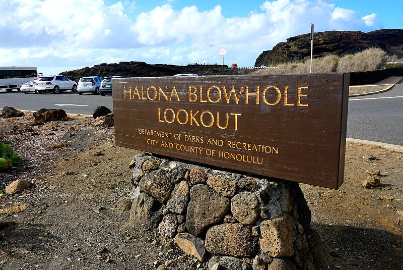 Halona Blowhole Lookout Parking Lot