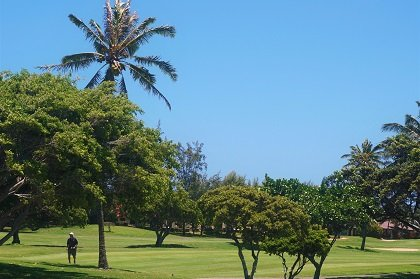 Hawaii Kai Golf Course green