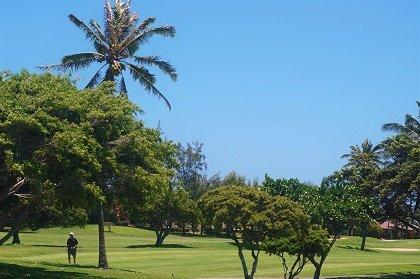Hawaii Kai Golf Course green