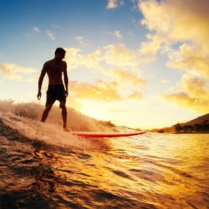 Hawaiian Surfing on Oahu