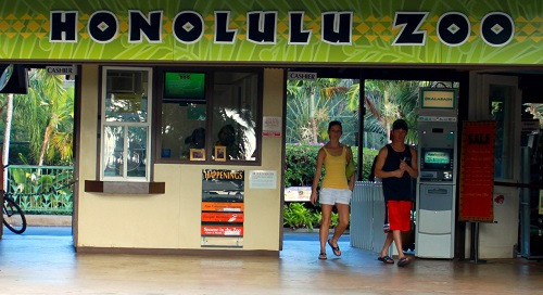 Old Honolulu Zoo Entrance