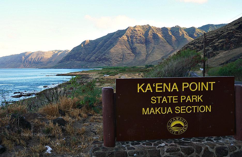 Kaena Point Sign