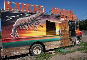 find Fumi's Kahuku Shrimp