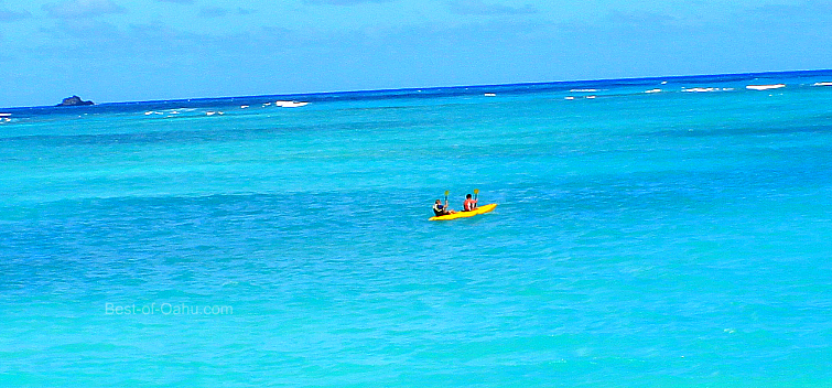 Kailua Beach Kayaking