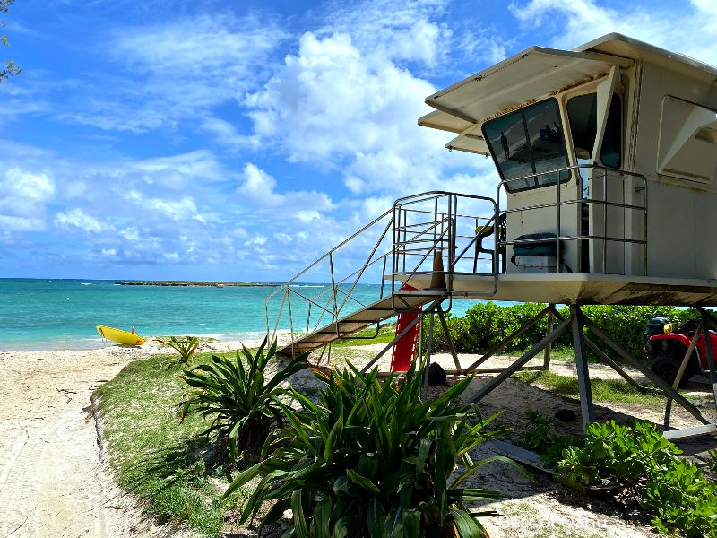Kailua Beach Lifeguard Stand