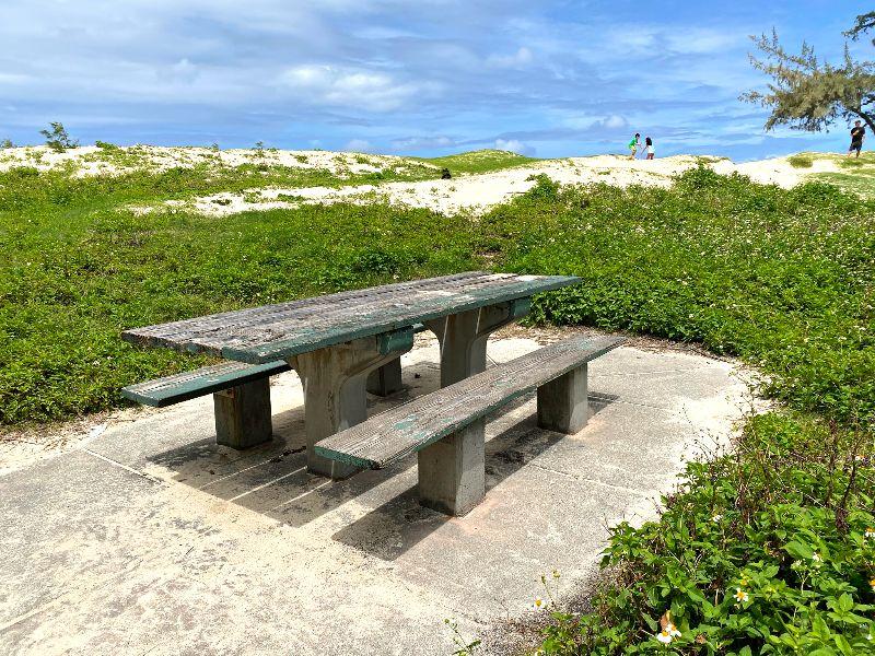 Kailua Beach Picnic Table
