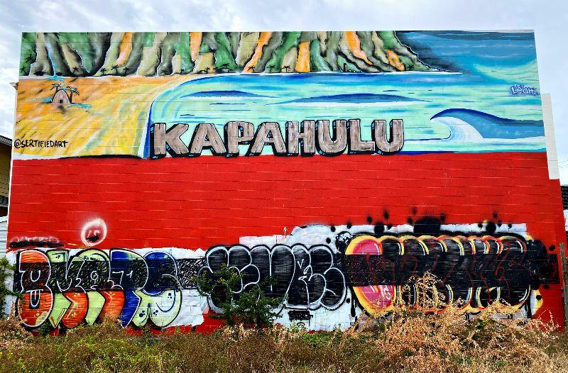 Kapahulu Mural