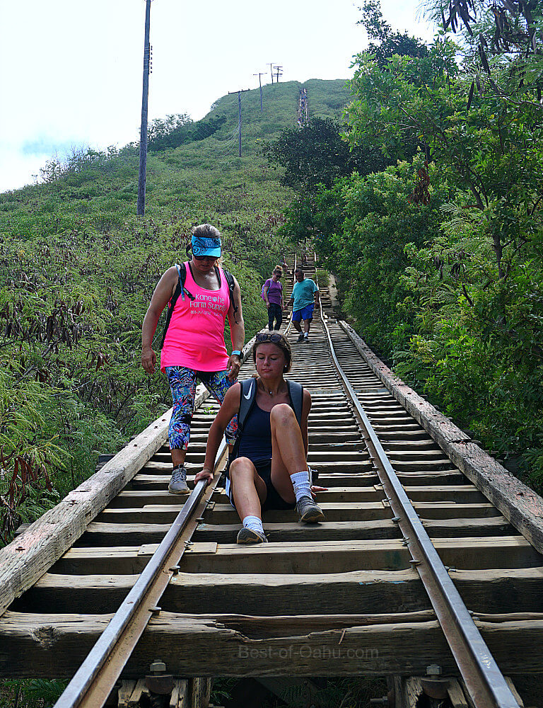 Koko Crater Trail Bridge