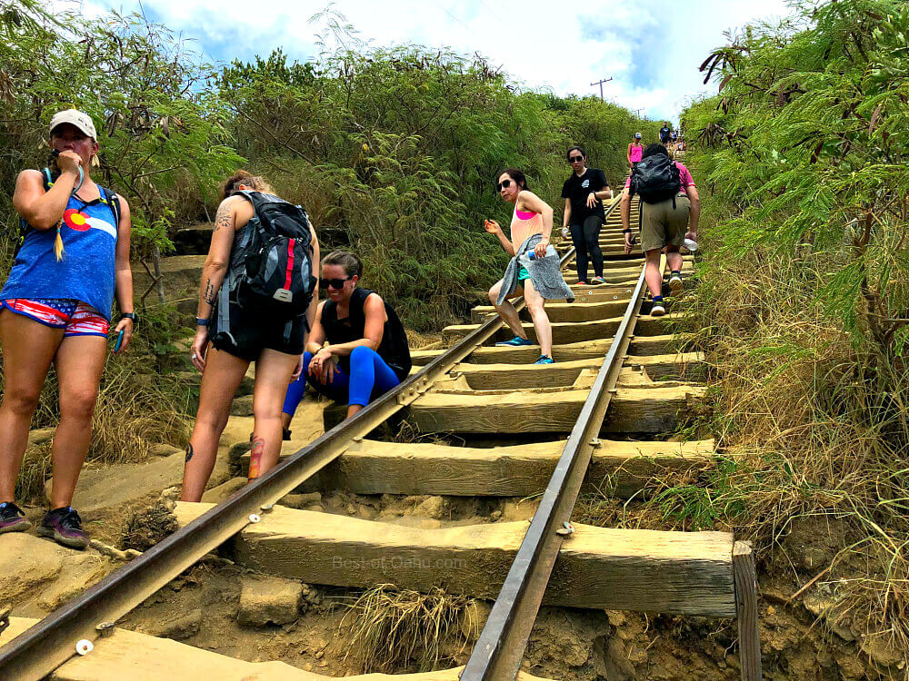 Hiking the Koko Crater Trail on mount thielsen trail map, koko crater trail map, kaena point trail map, hanalei trail map, hanauma bay trail map, waimea trail map, kihei trail map, hawaii map, tantalus trail map,