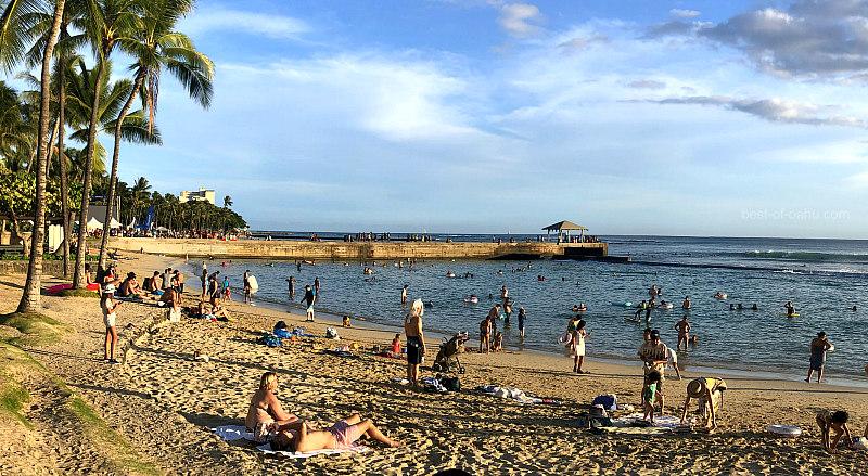 Kuhio Beach Waikiki Walls
