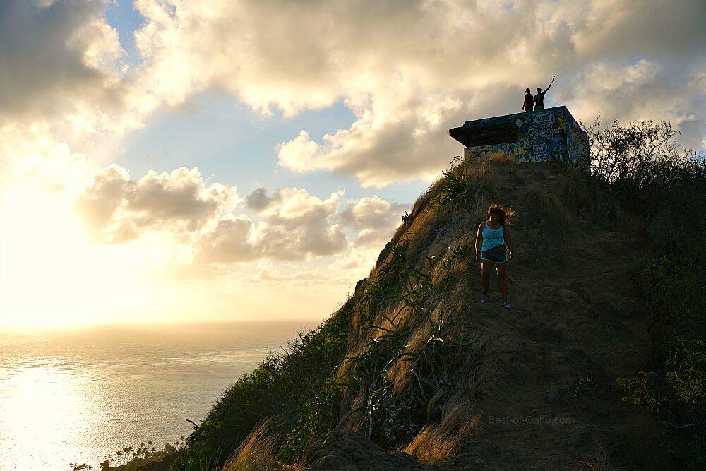 Lanikai Pillbox Hike Sunrise
