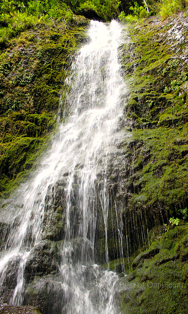 Lulumahu Falls Waterfall