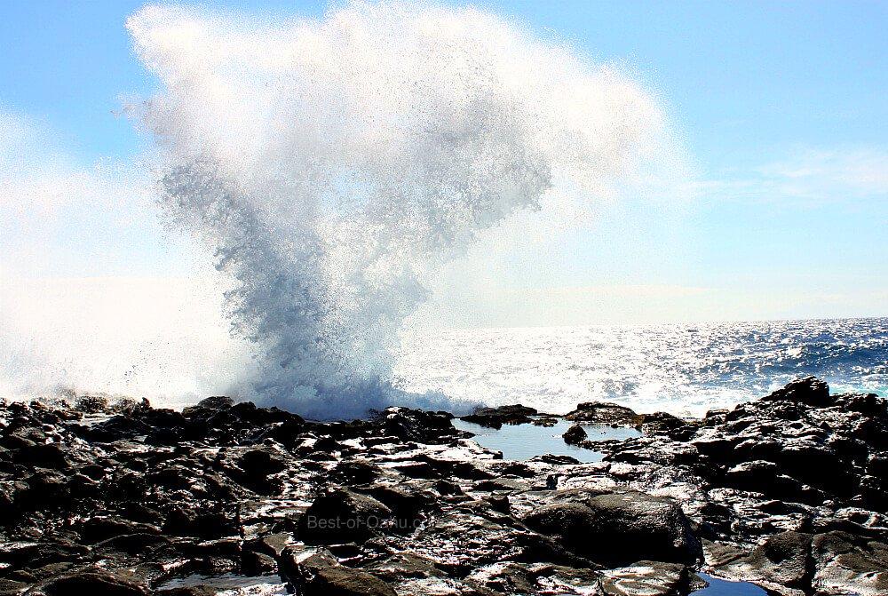 Makapuu Tidepool Blowhole