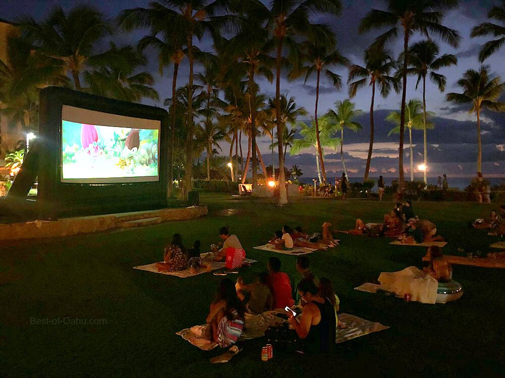Ko'olina Outdoor Movie Night