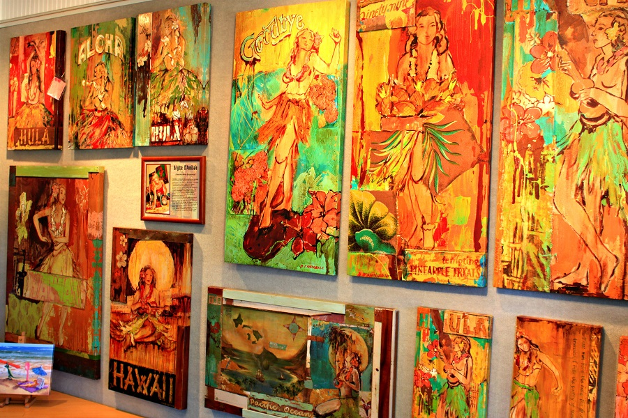 Oahu North Shore Art Gallery;