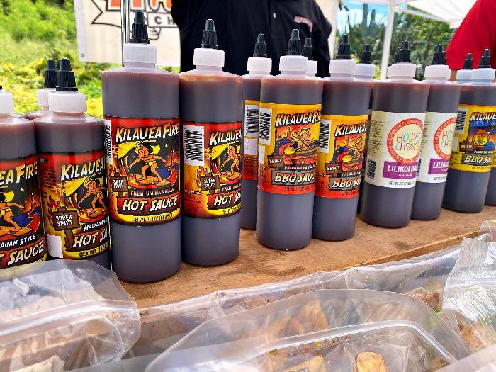 Oahu Farmers Market BBQ