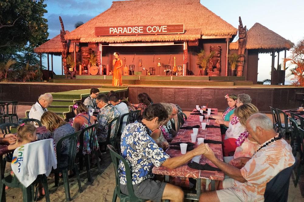 Paradise Cove Luau Prayer