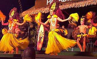 Paradise Luau;
