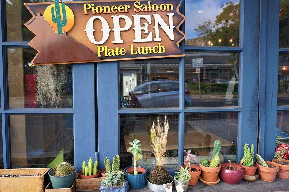 Pioneer Saloon Plate Lunch