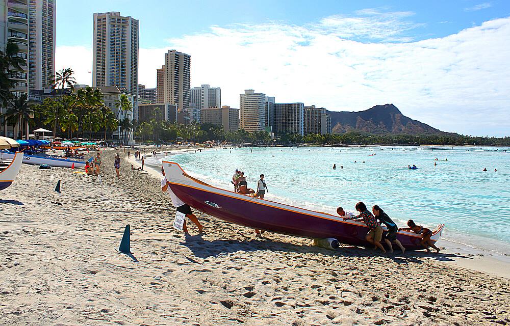Royal Hawaiian Beach Waikiki