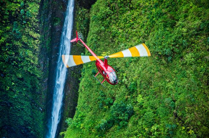 Sacred Falls Helicopter Ride
