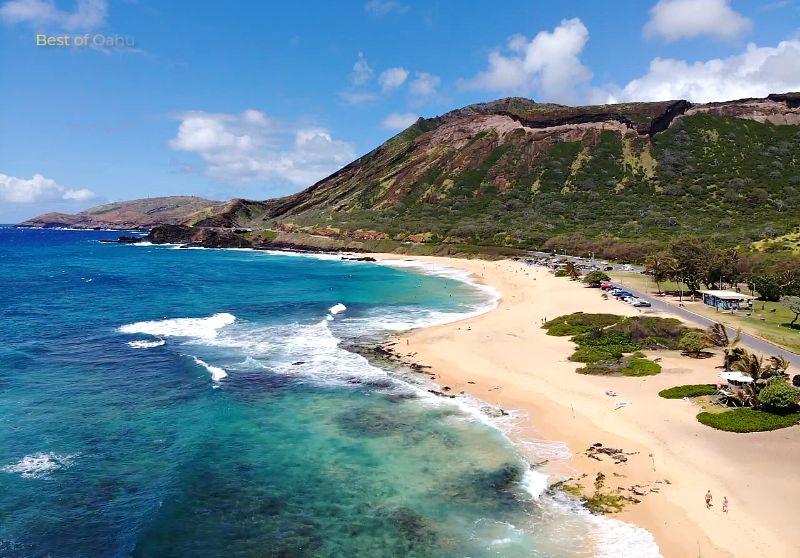 Sandy Beach Drone Pic